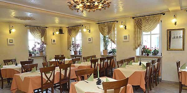 Restaurant La Corona mit italienischer Küche