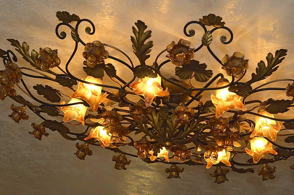 Florentinische Deckenlampe